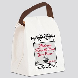 Abstinence Canvas Lunch Bag