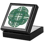 Celtic Four Leaf Clover Keepsake Box