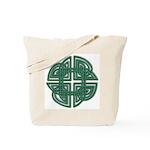 Celtic Four Leaf Clover Tote Bag