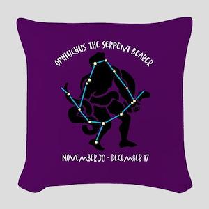 oph-zodiac_b Woven Throw Pillow
