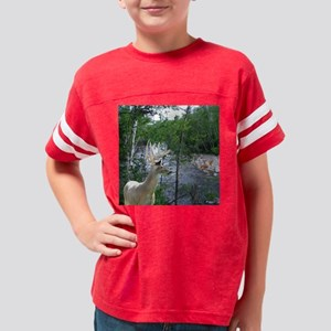 Tote River Buck,Fairy  Fawn W Youth Football Shirt