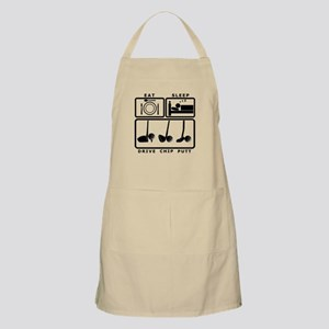 Eat Sleep Drive Chip Putt Golf design Apron