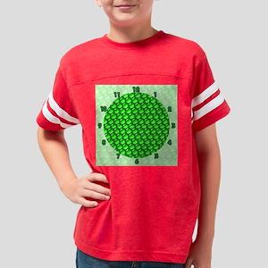 _a Peas Clock Youth Football Shirt