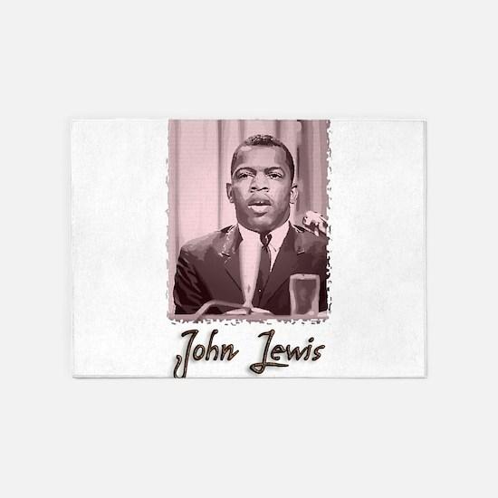 John Lewis w text 5'x7'Area Rug