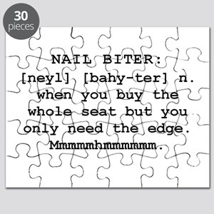 Mountain Man's Definition of a Nail Biter Puzzle