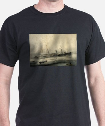 Wreck of the U.S.M. steam ship Arctic - 1854 T-Shi
