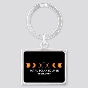 Total Solar Eclipse 2017 Landscape Keychain