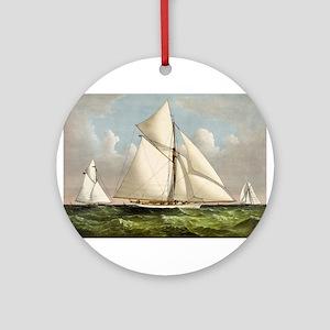Volunteer - 1887 Round Ornament