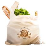 Official Conch Republic Navy Reusable Shopping Bag