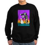 Zombie Texting Sweatshirt