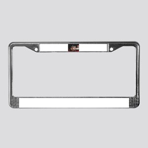 Snickers License Plate Frame