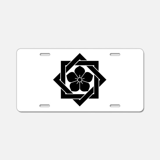 Ryoma Sakamoto Aluminum License Plate
