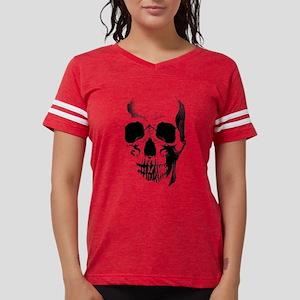 skull-face_bl Womens Football Shirt