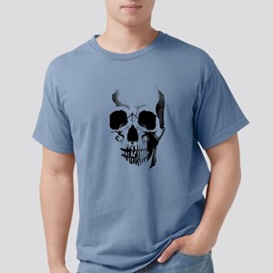 skull-face_bl Mens Comfort Colors Shirt