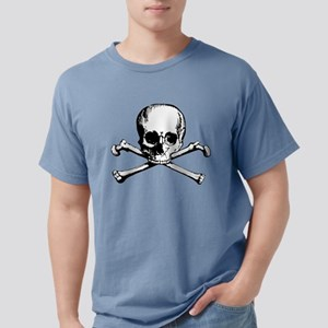 Crossbones Mens Comfort Colors Shirt
