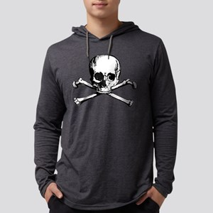 Crossbones Mens Hooded Shirt