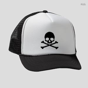 skull-black_new Kids Trucker hat