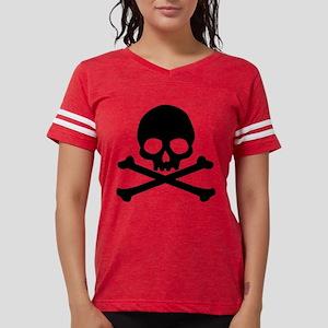 skull-black_new Womens Football Shirt