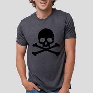skull-black_new Mens Tri-blend T-Shirt