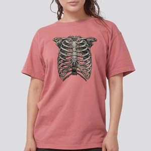 ribcage_grey Womens Comfort Colors Shirt