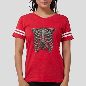 ribcage_grey Womens Football Shirt