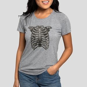 ribcage_grey Womens Tri-blend T-Shirt