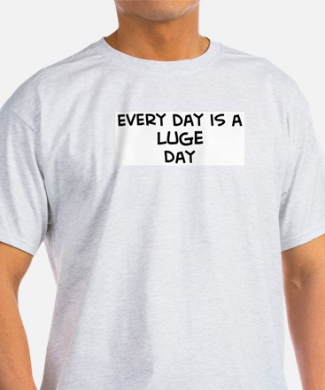 Luge day Ash Grey T-Shirt