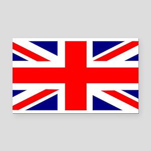 UK Flag Union Jack Rectangle Car Magnet