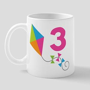 3rd Birthday Kite Mug