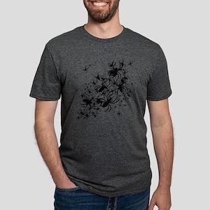 spiders_bl Mens Tri-blend T-Shirt