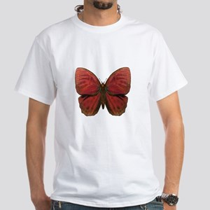 Red Rooster Butterfly T-Shirt