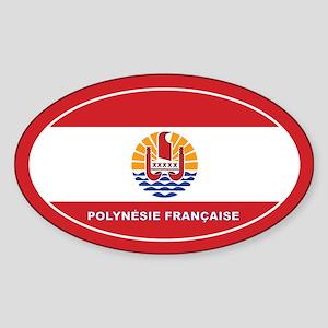 French Polynesia - Polynesie Francaise Sticker