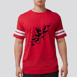 bats-many_bl Mens Football Shirt