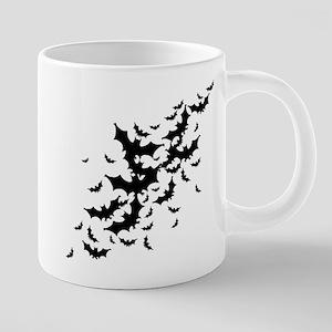 bats-many_bl 20 oz Ceramic Mega Mug