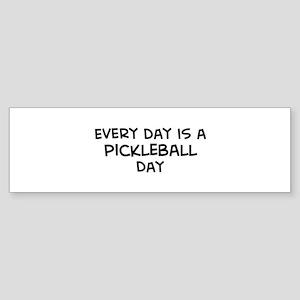 Pickleball day Bumper Sticker