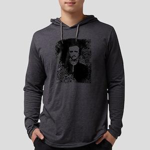 poe-pattern_bk Mens Hooded Shirt
