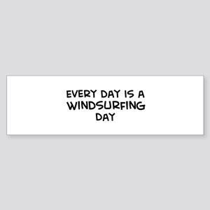 Windsurfing day Bumper Sticker