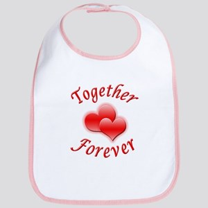 Together Forever Bib