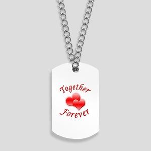 Together Forever Dog Tags