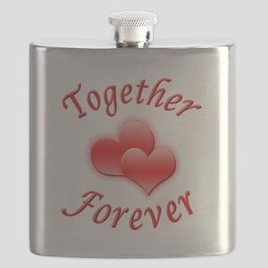 Together Forever Flask