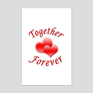 Together Forever Mini Poster Print