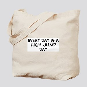 High Jump day Tote Bag