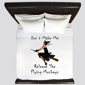 Don't Make Me Release The Flying Monkey King Duvet