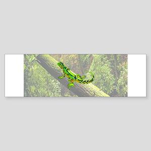 Lizard Bumper Sticker