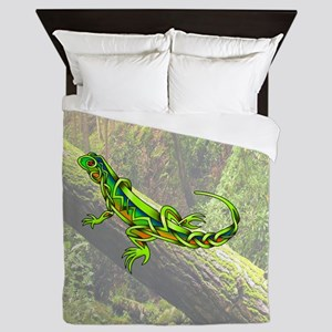 Lizard Queen Duvet