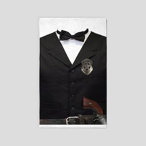 Gentleman Sheriff 3'x5' Area Rug
