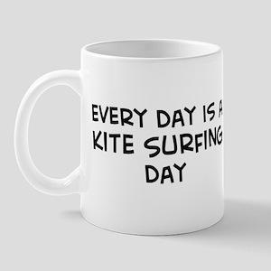Kite Surfing day Mug