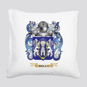 Kelly-(England) Coat of Arms (Family Crest) Square