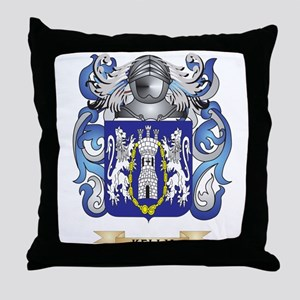 Kelly-(England) Coat of Arms (Family Crest) Throw