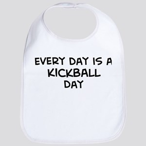 Kickball day Bib